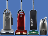 Stows Forrest Vacuum Cleaner Web Site